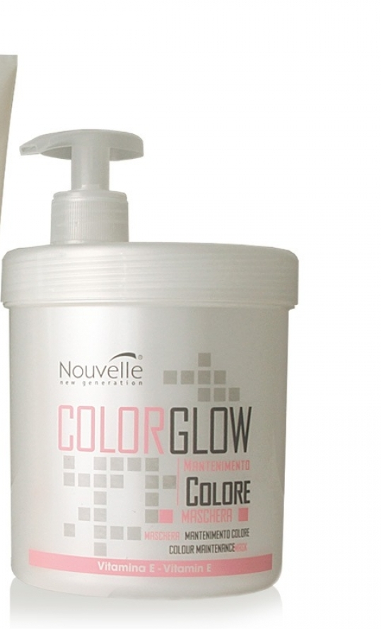 Nouvelle Colour maintenance mask na farbené vlasy 1000ml, Nouvel